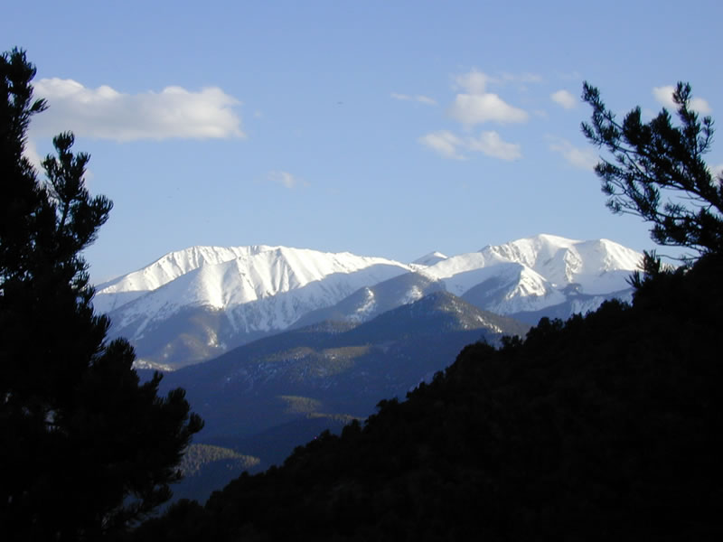 salida mountains